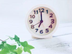 小学校受験対策塾に通うための時間の組み方